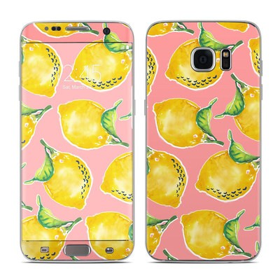 Samsung Galaxy S7 Edge Skin - Lemon