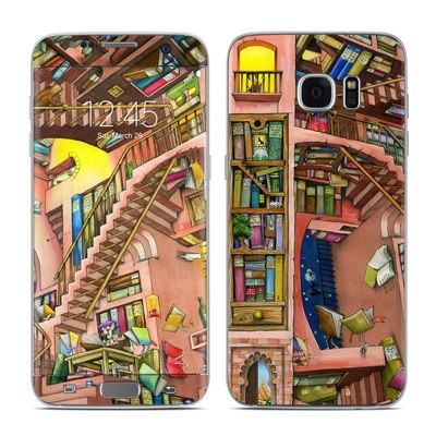 Samsung Galaxy S7 Edge Skin - Library Magic