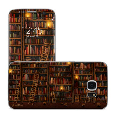 Samsung Galaxy S7 Edge Skin - Library
