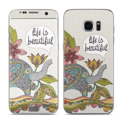 Samsung Galaxy S7 Edge Skin - Life is Beautiful