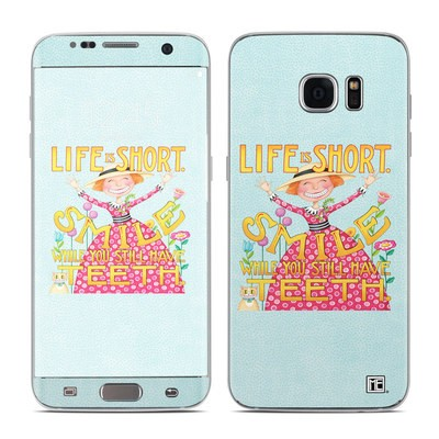 Samsung Galaxy S7 Edge Skin - Life is Short