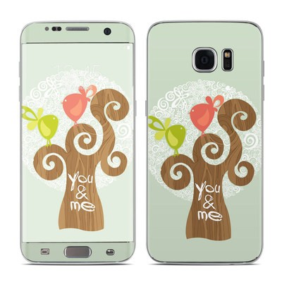 Samsung Galaxy S7 Edge Skin - Two Little Birds