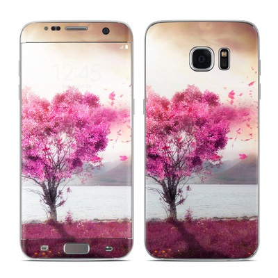 Samsung Galaxy S7 Edge Skin - Love Tree