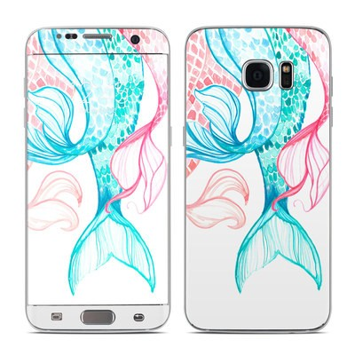 Samsung Galaxy S7 Edge Skin - Mermaid Tails