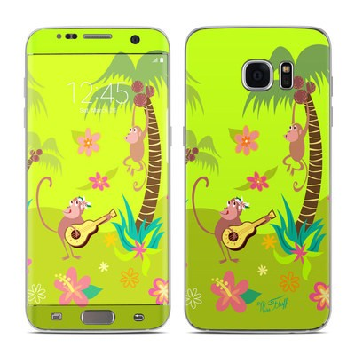 Samsung Galaxy S7 Edge Skin - Monkey Melody