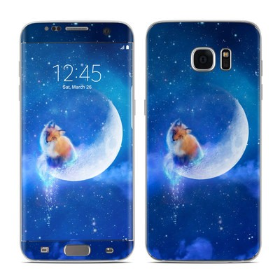 Samsung Galaxy S7 Edge Skin - Moon Fox