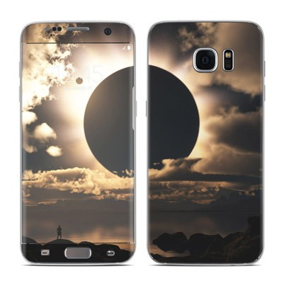 Samsung Galaxy S7 Edge Skin - Moon Shadow