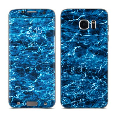 Samsung Galaxy S7 Edge Skin - Mossy Oak Elements Agua