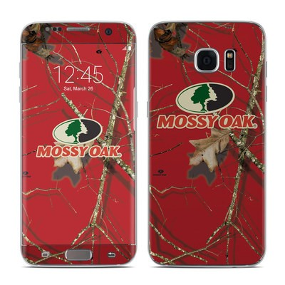 Samsung Galaxy S7 Edge Skin - Break-Up Lifestyles Red Oak