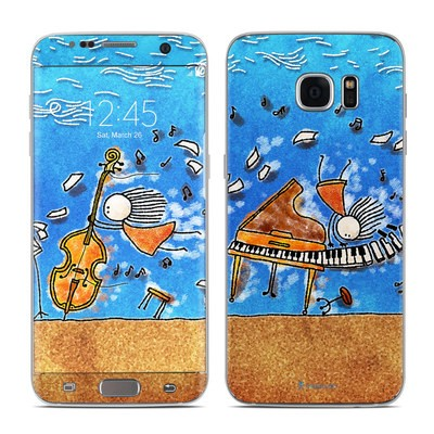 Samsung Galaxy S7 Edge Skin - Music is Power