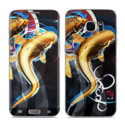Samsung Galaxy S7 Edge Skin - Namazu and Koi