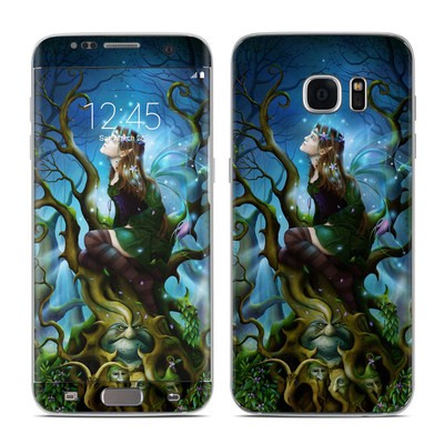 Samsung Galaxy S7 Edge Skin - Nightshade Fairy