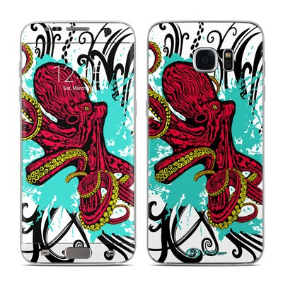 Samsung Galaxy S7 Edge Skin - Octopus