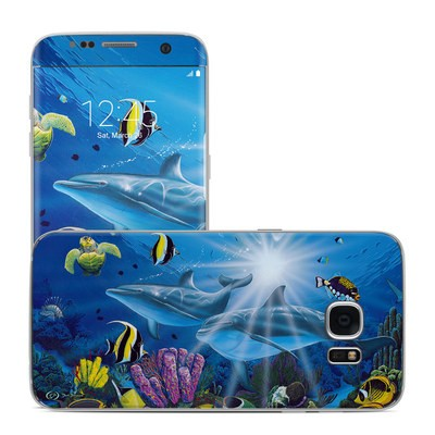 Samsung Galaxy S7 Edge Skin - Ocean Friends