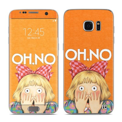 Samsung Galaxy S7 Edge Skin - Oh No