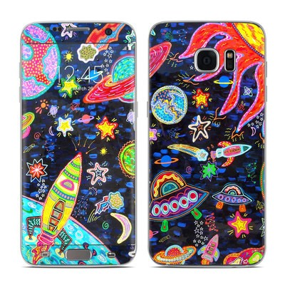 Samsung Galaxy S7 Edge Skin - Out to Space