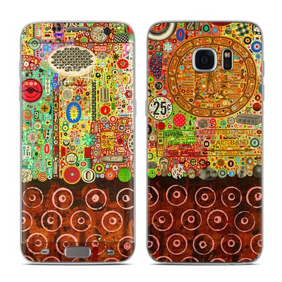 Samsung Galaxy S7 Edge Skin - Percolations