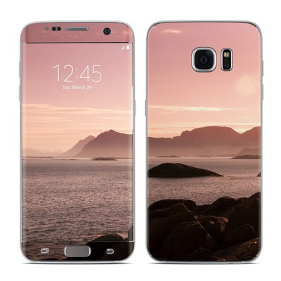 Samsung Galaxy S7 Edge Skin - Pink Sea