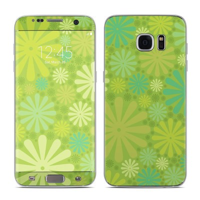 Samsung Galaxy S7 Edge Skin - Lime Punch