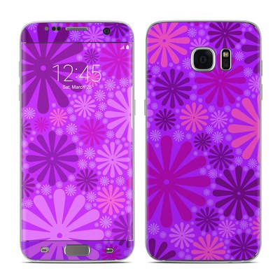 Samsung Galaxy S7 Edge Skin - Purple Punch