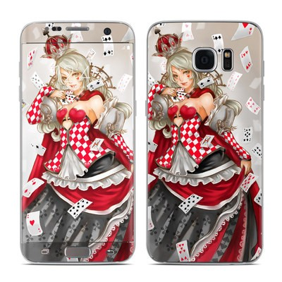 Samsung Galaxy S7 Edge Skin - Queen Of Cards