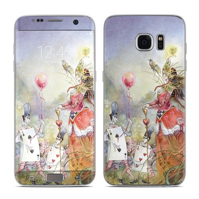 Samsung Galaxy S7 Edge Skin - Queen of Hearts