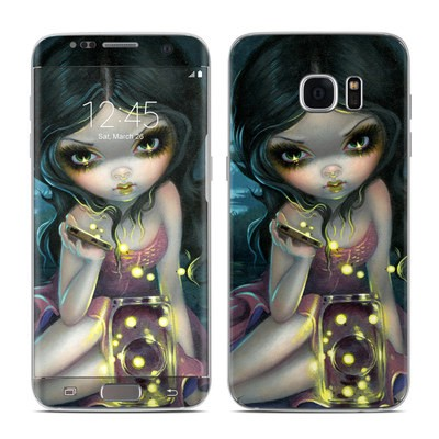 Samsung Galaxy S7 Edge Skin - Releasing Fireflies