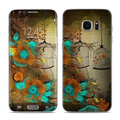 Samsung Galaxy S7 Edge Skin - Rusty Lace