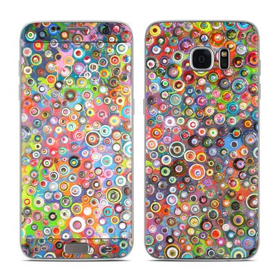 Samsung Galaxy S7 Edge Skin - Round and Round