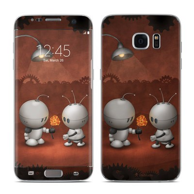 Samsung Galaxy S7 Edge Skin - Robots In Love