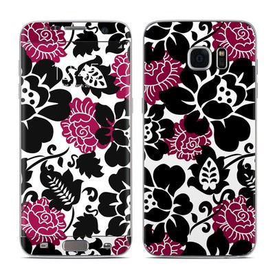 Samsung Galaxy S7 Edge Skin - Rose Noir