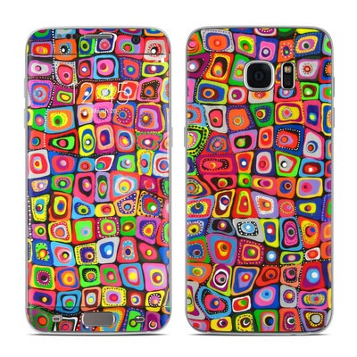Samsung Galaxy S7 Edge Skin - Square Dancing