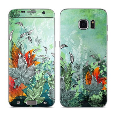 Samsung Galaxy S7 Edge Skin - Sea Flora