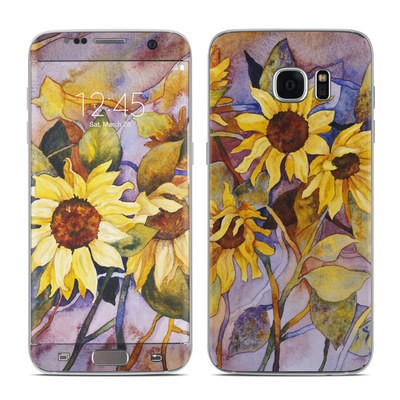 Samsung Galaxy S7 Edge Skin - Sunflower