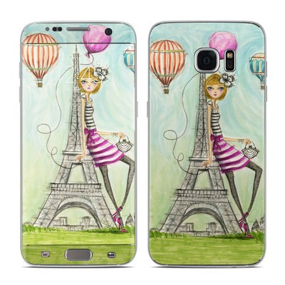 Samsung Galaxy S7 Edge Skin - The Sights Paris