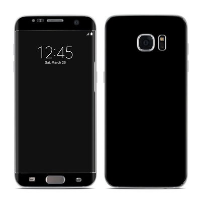 Samsung Galaxy S7 Edge Skin - Solid State Black