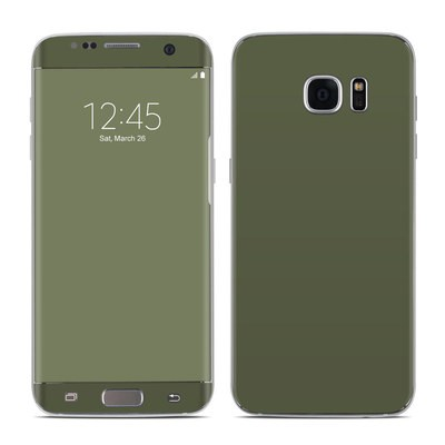Samsung Galaxy S7 Edge Skin - Solid State Olive Drab