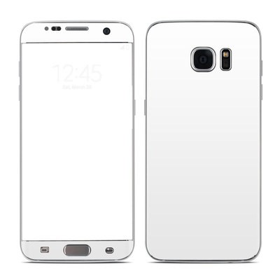 Samsung Galaxy S7 Edge Skin - Solid State White