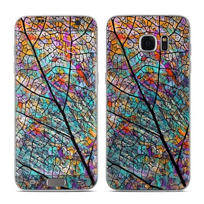 Samsung Galaxy S7 Edge Skin - Stained Aspen