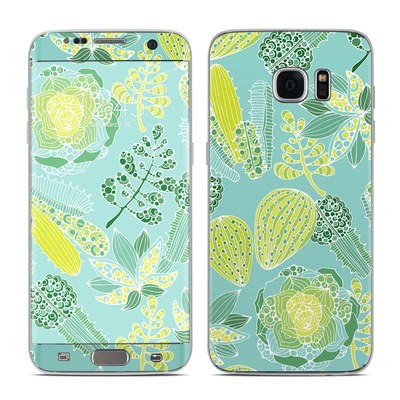 Samsung Galaxy S7 Edge Skin - Succulents