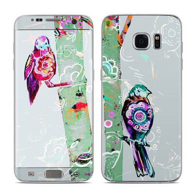 Samsung Galaxy S7 Edge Skin - Summer Birch