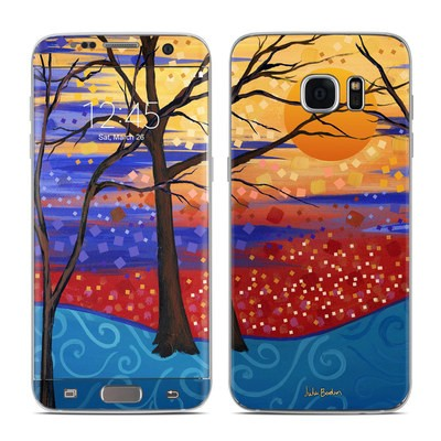 Samsung Galaxy S7 Edge Skin - Sunset Moon