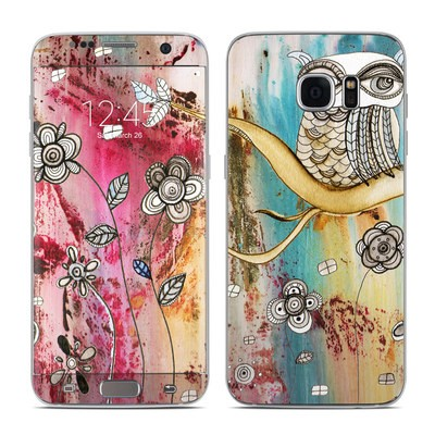 Samsung Galaxy S7 Edge Skin - Surreal Owl
