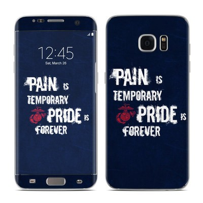 Samsung Galaxy S7 Edge Skin - Pain is Temporary