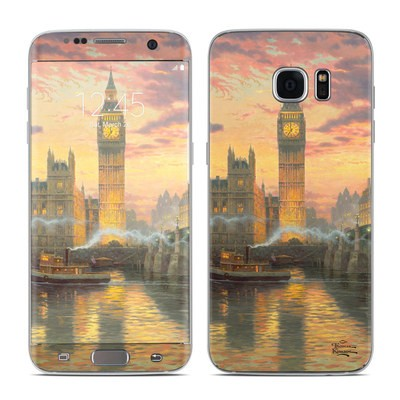 Samsung Galaxy S7 Edge Skin - Thomas Kinkades London