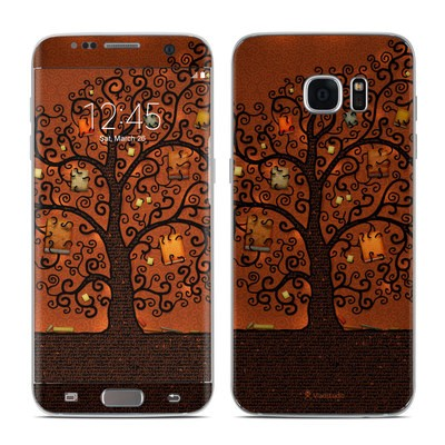 Samsung Galaxy S7 Edge Skin - Tree Of Books