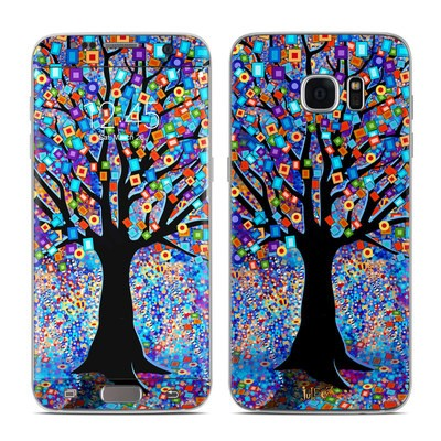 Samsung Galaxy S7 Edge Skin - Tree Carnival