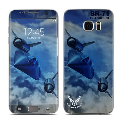 Samsung Galaxy S7 Edge Skin - Blackbird