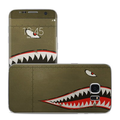 Samsung Galaxy S7 Edge Skin - USAF Shark