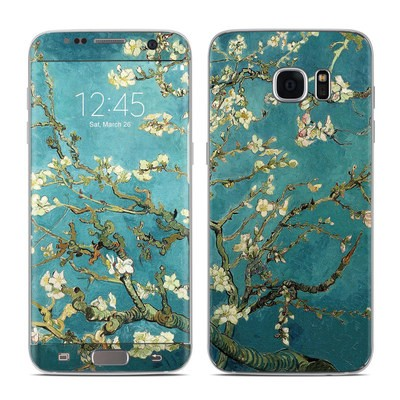 Samsung Galaxy S7 Edge Skin - Blossoming Almond Tree